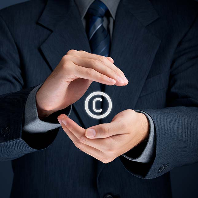 a picture about copyright